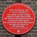 Battle of Cable Street - Dock Street