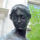 Charity drinking fountain, La Maternité