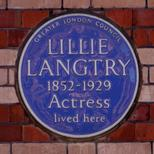 Lillie Langtry - Pont Street