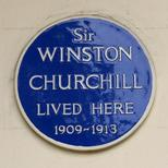 Winston Churchill - Eccleston Square