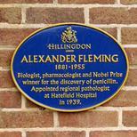 Sir Alexander Fleming - Harefield