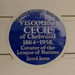 Viscount Cecil of Chelwood