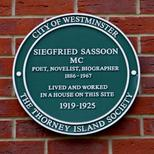 Siegfried Sassoon - SW1