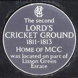 Second Lord's Cricket Ground - Lisson Grove