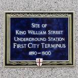 King William Street underground station