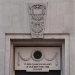 Lloyd's of London WW1 memorial