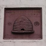 Beehive foundation stone - Upper Street