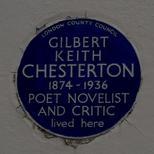 G K Chesterton - W14