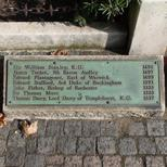Tower Hill Martyrs - list