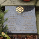 Wandsworth Fire Station - stone plaque 1
