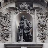 Sir John Cass statue - Jewry Street