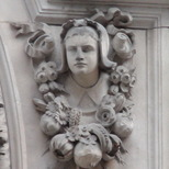 Sir John Cass - Charity girl - bust