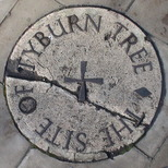Tyburn tree - pavement plaque