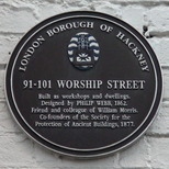 Worship Street workshops