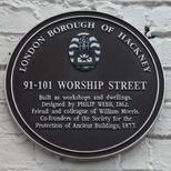 Worship Street workshops