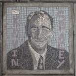 South Bank mosaic - Kevin Spacey