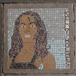 South Bank mosaic - Kelly Holmes