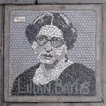 South Bank mosaic - Lilian Baylis