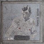 South Bank mosaic - Ernie Izzard
