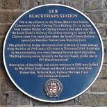 First Blackfriars Station