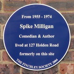 Spike Milligan - home