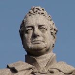William IV statue