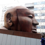 Hitchcock bust
