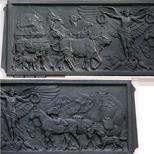 Animals War Memorial Dispensary - bronze frieze
