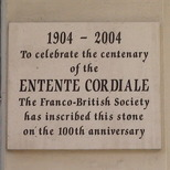 Entente Cordiale - centenary