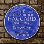Sir Henry Rider Haggard
