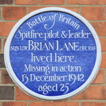 Squadron Leader Brian Lane