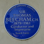 Sir Thomas Beecham - NW8