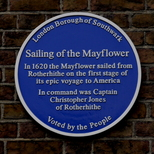 The Sailing of the Mayflower