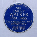 Sir Emery Walker