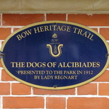 Dogs of Alcibiades - plaque