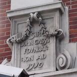 Sir John Cass Foundation, Aldgate - east corner
