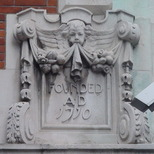 Sir John Cass Foundation, Aldgate - south corner