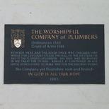 Plumbers - plaque