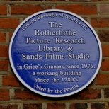 Rotherhithe Picture Research Library & Sands Films Studio