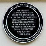 Queen Elizabeth's birthplace - Diamond Jubilee