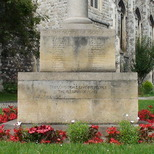 St Marks WW1 cross