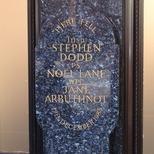 Harrods bombing - lower plaque