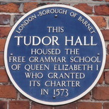 Tudor Hall - blue