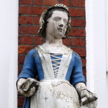 St Mary Rotherhithe - charity girl