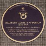 Elizabeth Garrett Anderson - birth