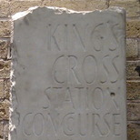 King's Cross War memorial - 2. temporary