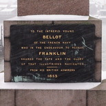 Bellot memorial obelisk