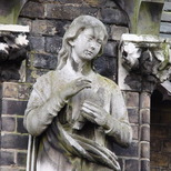 Hannah Brown statue