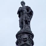 King George I statue