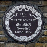 William Thackeray - Young Street, W8